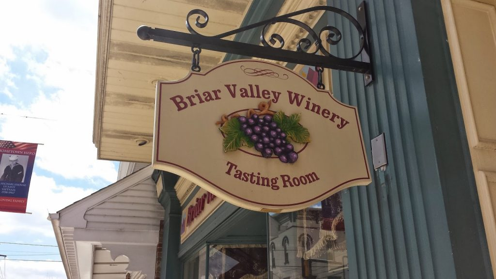 briar valley winery