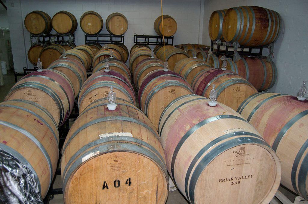winery casks